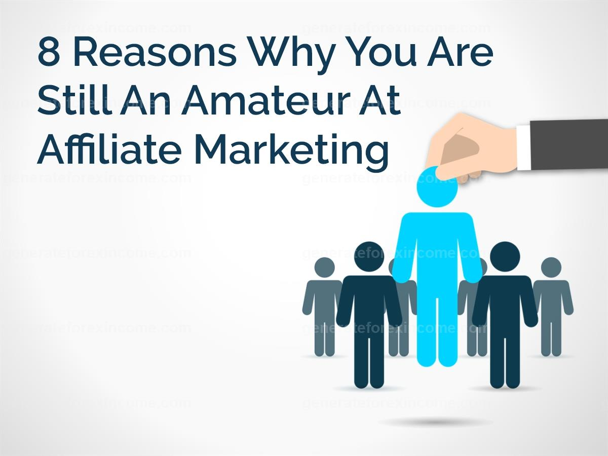 8 Reasons Why You Are Still An Amateur At Affiliate Marketing